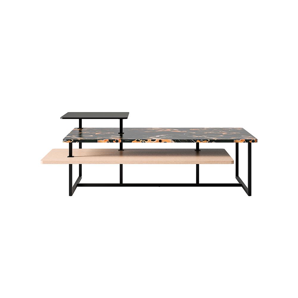 Кофейный столик Sestosenso Large черный (фото)
