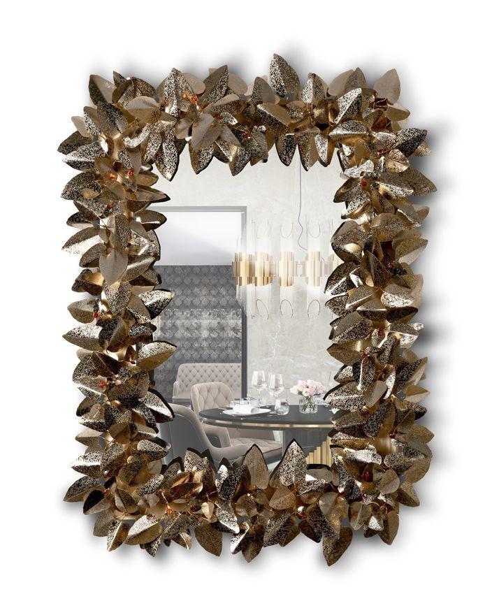 Настенное зеркало MCQUEEN RECTANGULAR