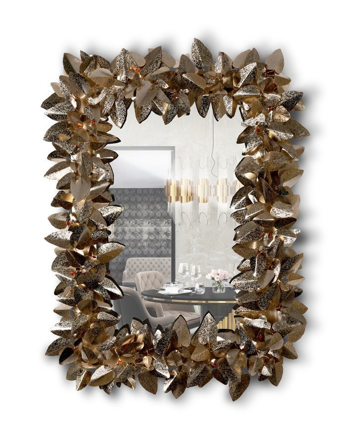 Настенное зеркало MCQUEEN RECTANGULAR (фото)