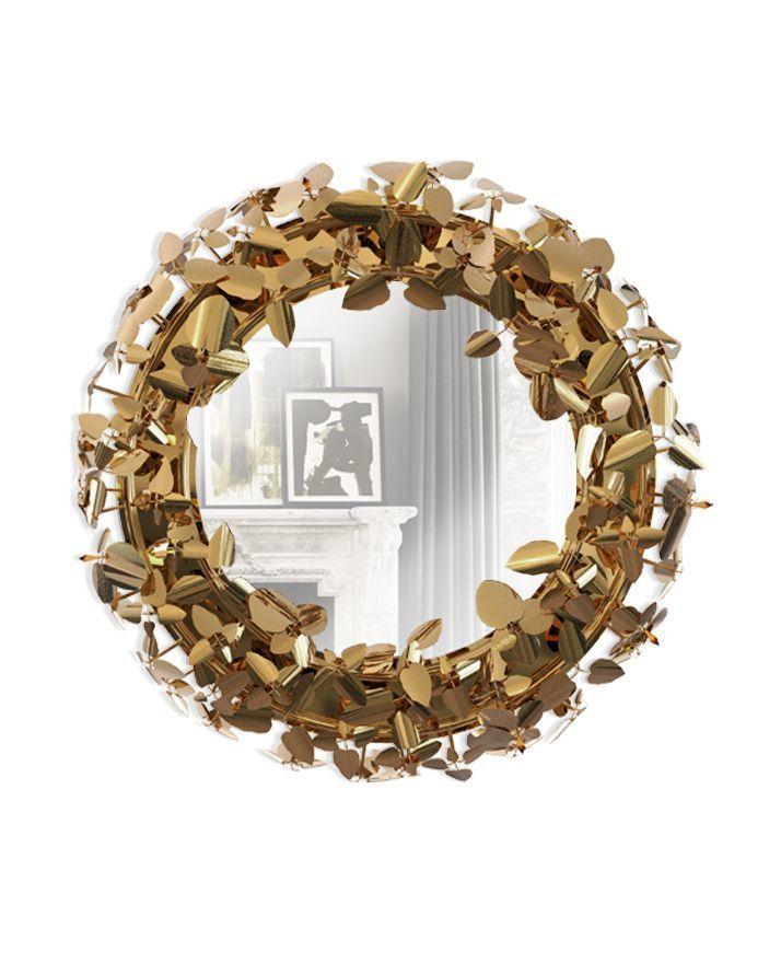 Настенное зеркало MCQUEEN (фото)