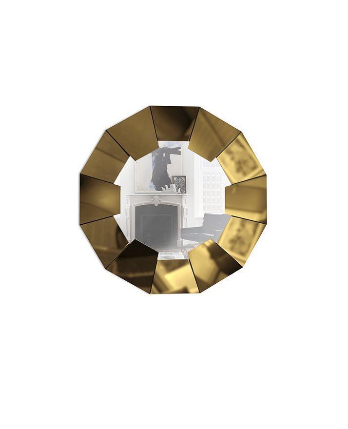Настенное зеркало DARIAN GOLD
