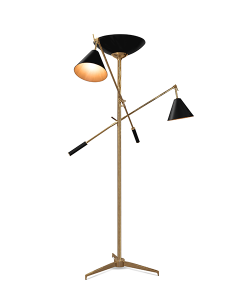 Напольная лампа TORCHIERE (фото)