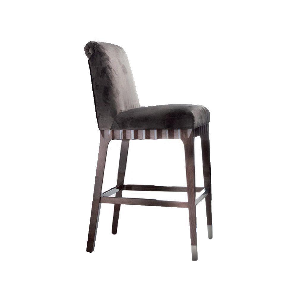 Барный стул из массива бука Absolute (фото)