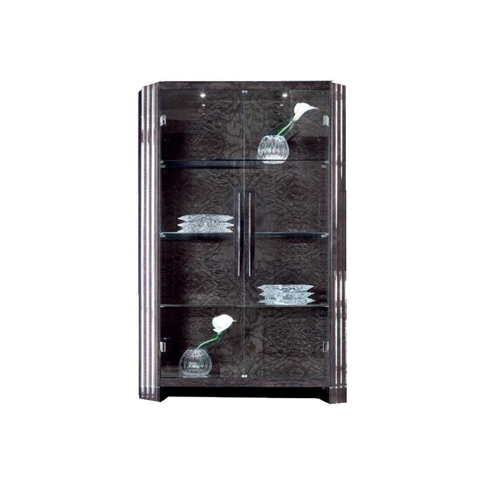 Витрина с двумя стеклянными дверцами Absolute (фото)