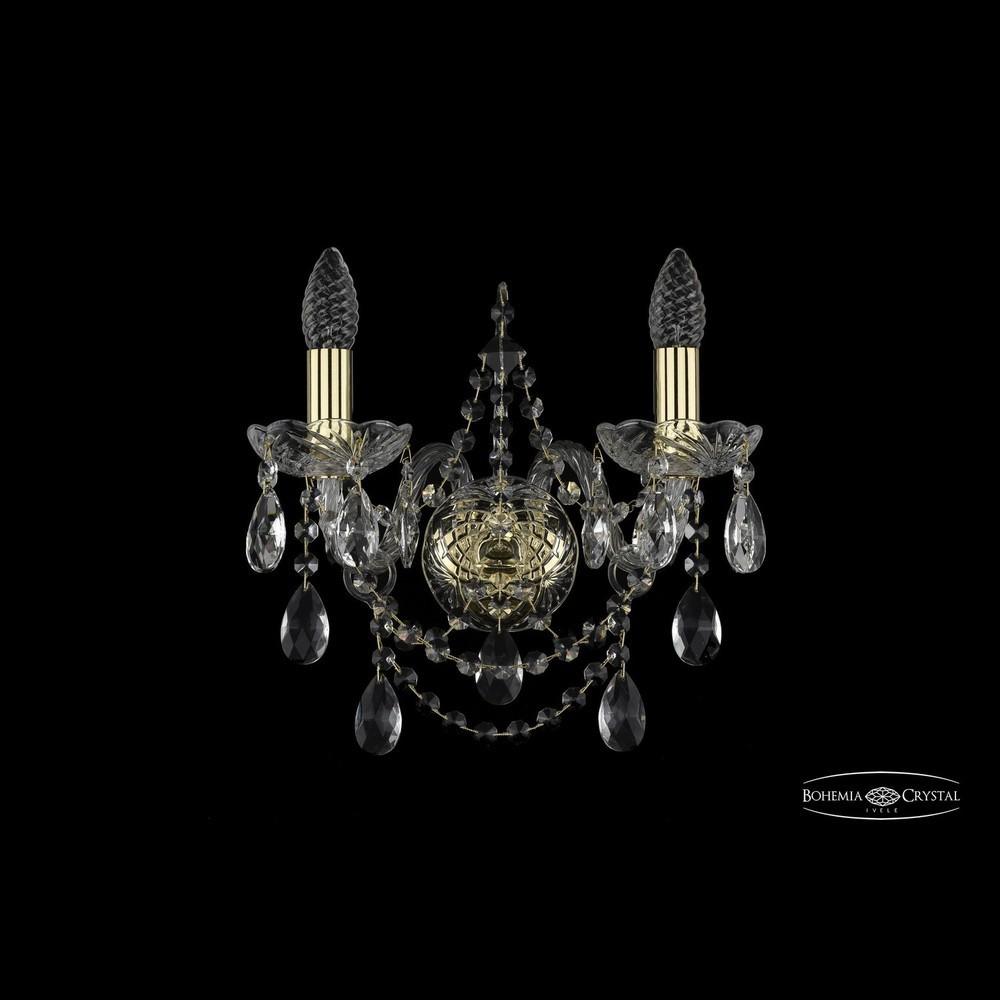 Бра Bohemia Ivele Crystal Бра хрустальные 1411B/2/141 G