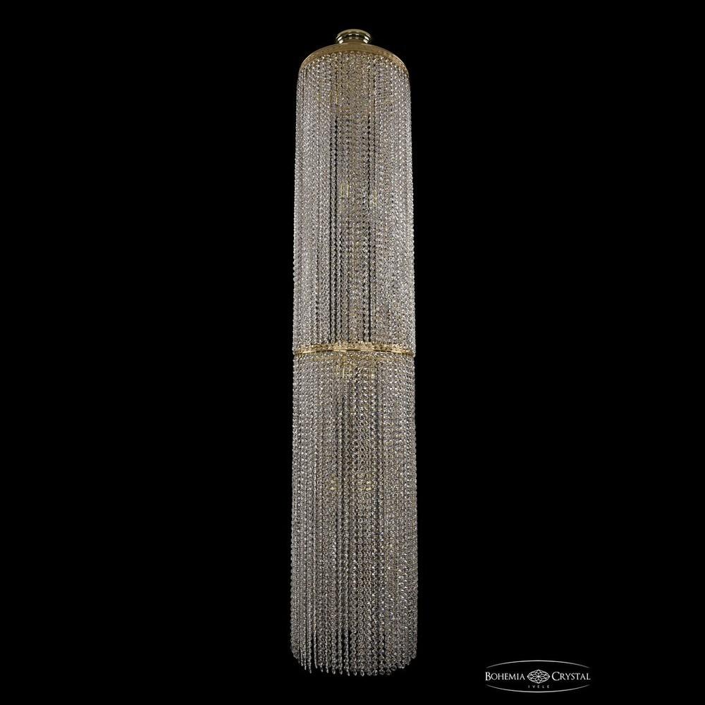 Люстры Большие Bohemia Ivele Crystal Люстра столб 2141/40-200 G