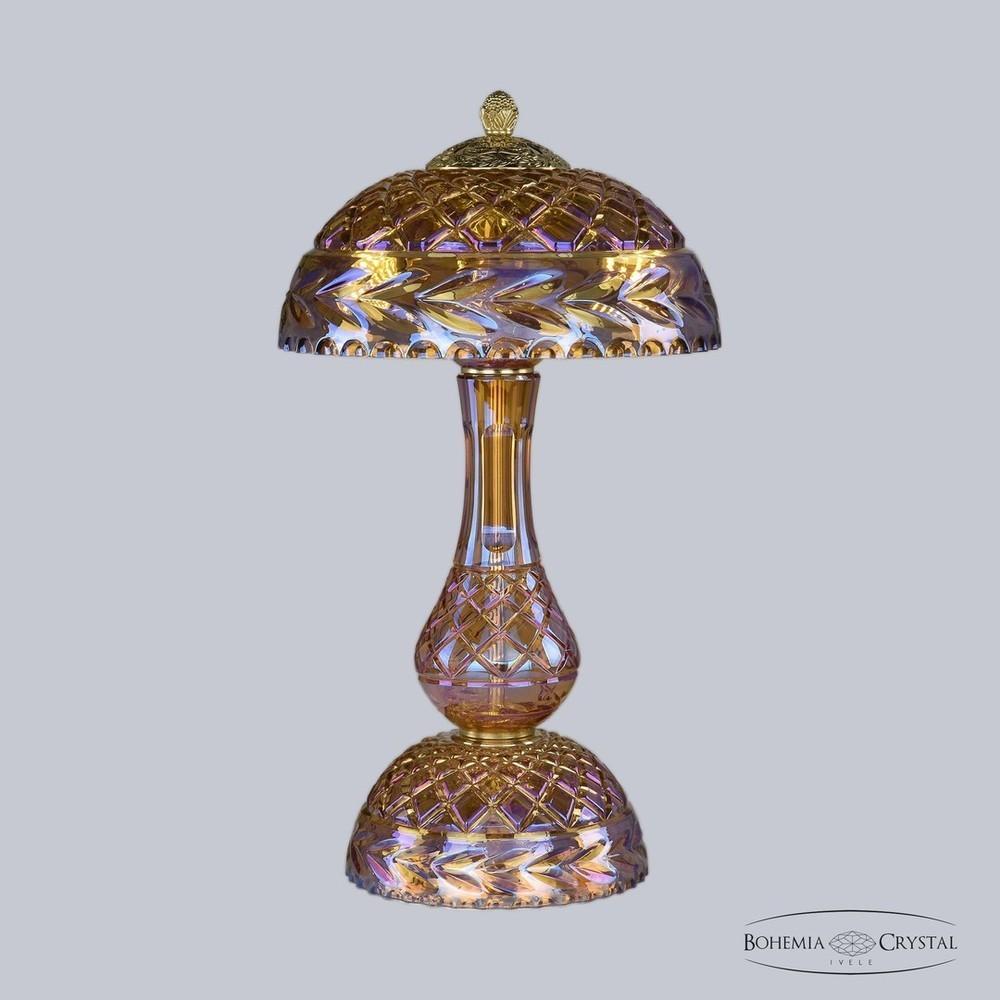 Bohemia Ivele Crystal Настольная лампа 1371L/3/25 G 777/M-1F