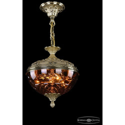 Bohemia Люстра бронзовая 1773/25 G Amber/1B