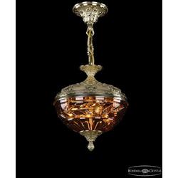 Bohemia Ivele Crystal Люстра 1773/25 G Amber/1D