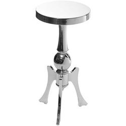 GD Журнальный стол металлический хромированный