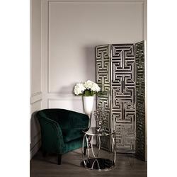 Bohemia Empir Style Кресло низкое велюровое изумрудное