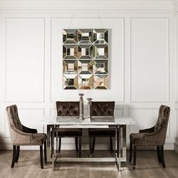 Bohemia Empir Style Стол обеденный белый