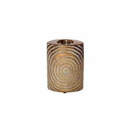 Индивидуальный дизайн Подсвечник керамический золотой