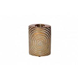 Bohemia Empir Style Подсвечник керамический золотой
