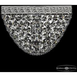 Bohemia Ivele Crystal Бра хрустальные 19322B/20IV Ni