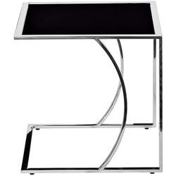 Приставной столик Garda Decor 13RXNT5076M-SILVER